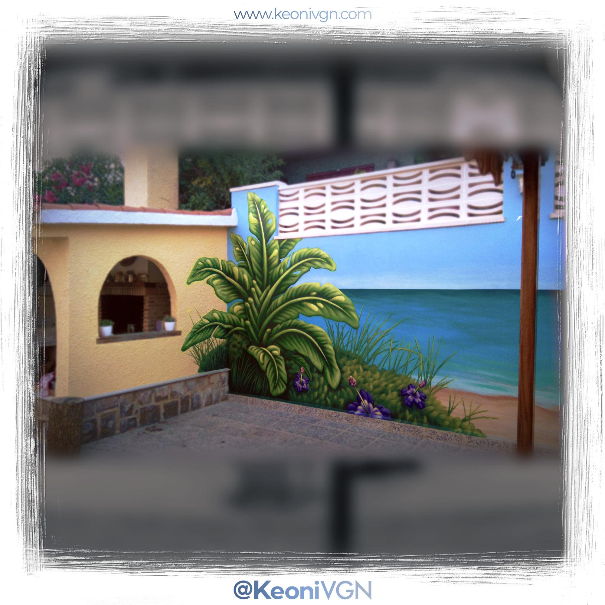Mural Tarifa Beach 3