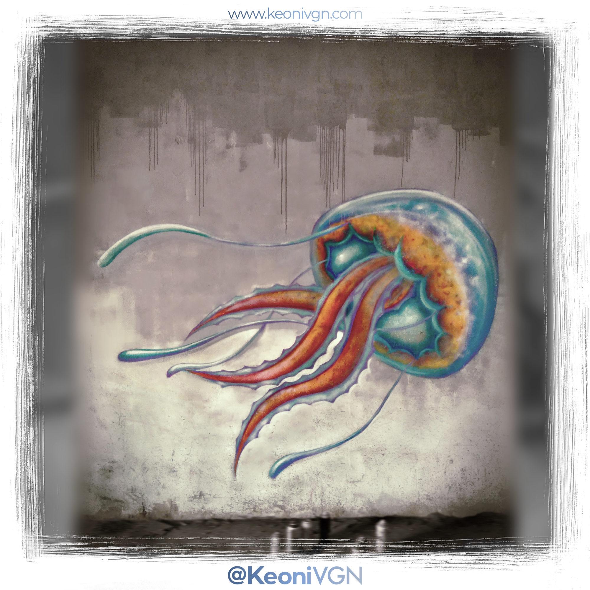 Mural Jellyfish