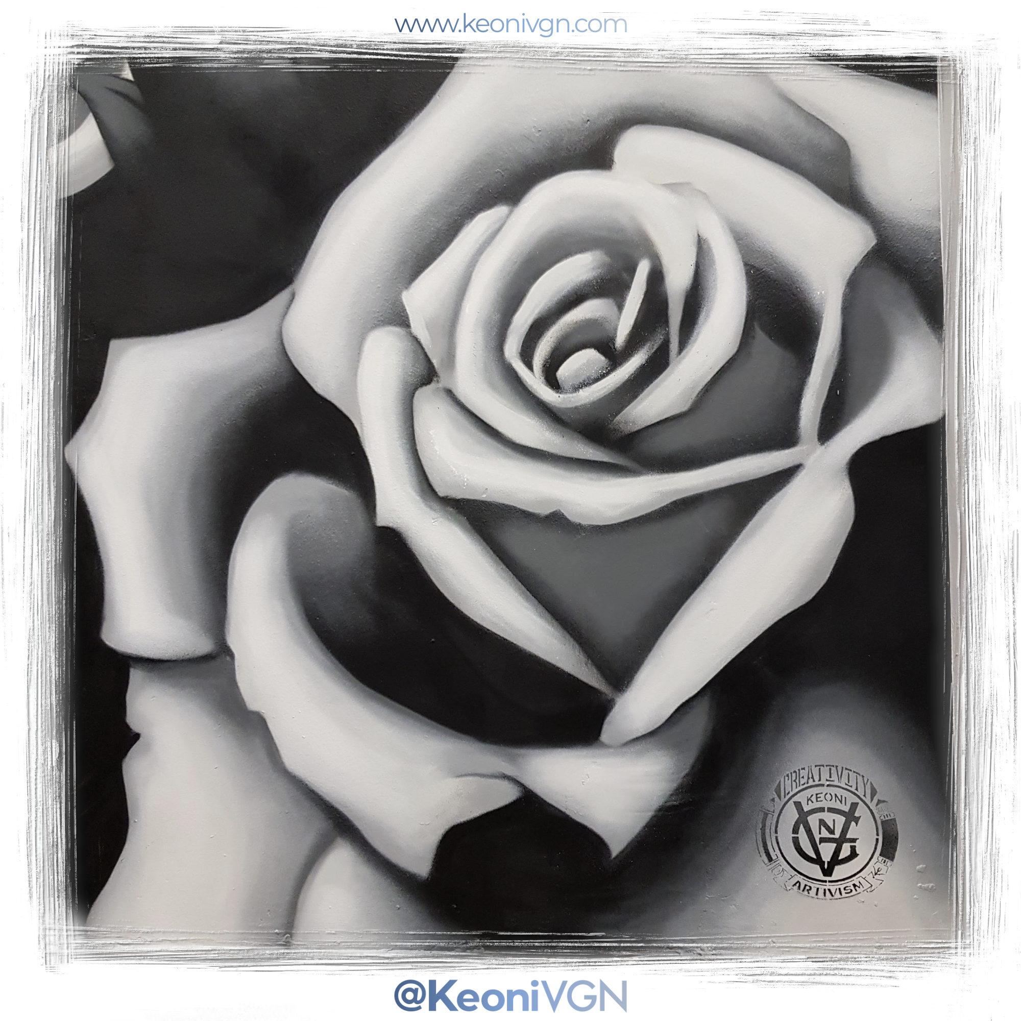 Mural Skull & Roses - Nava Tattoo 2