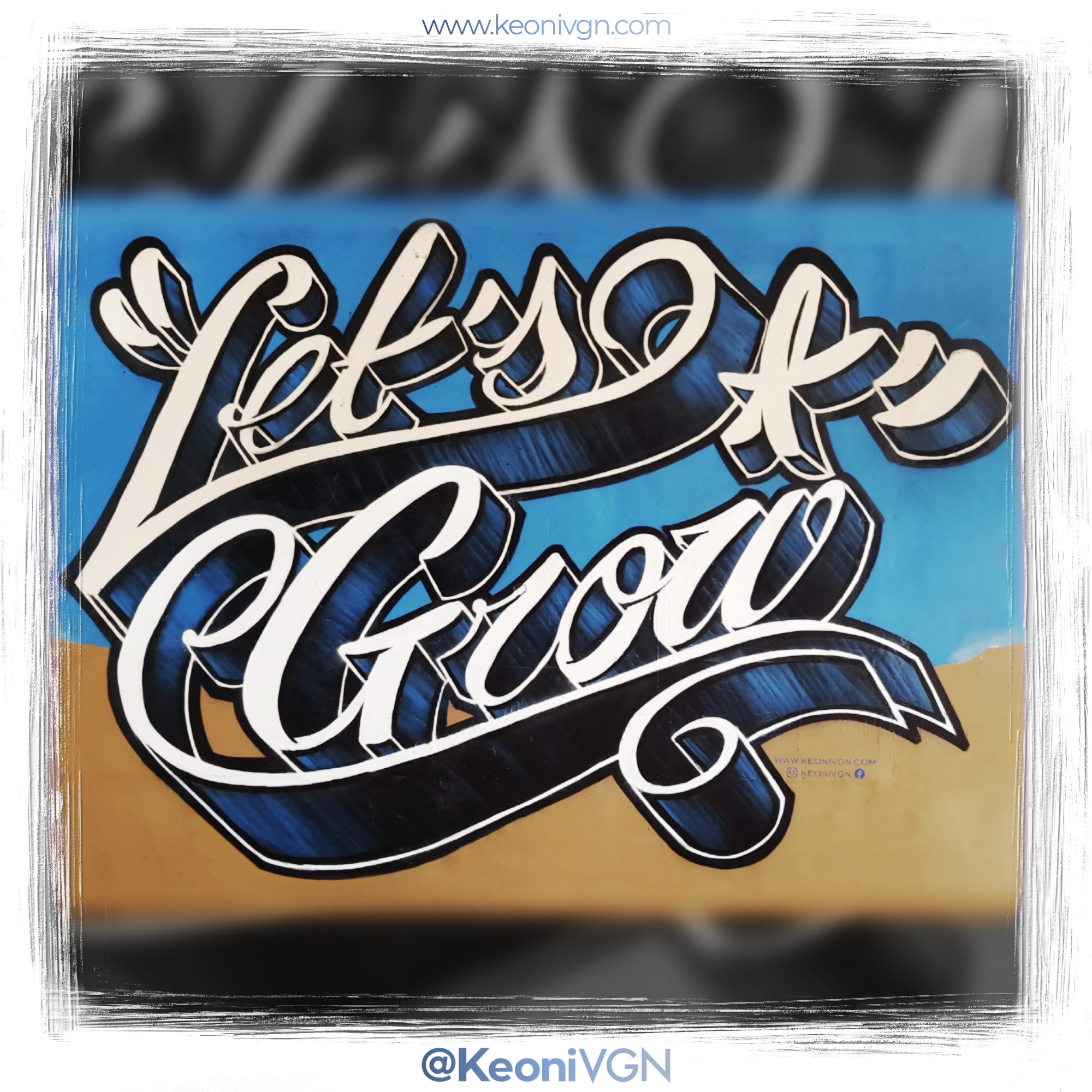 proyecto Let's Grow Lettering