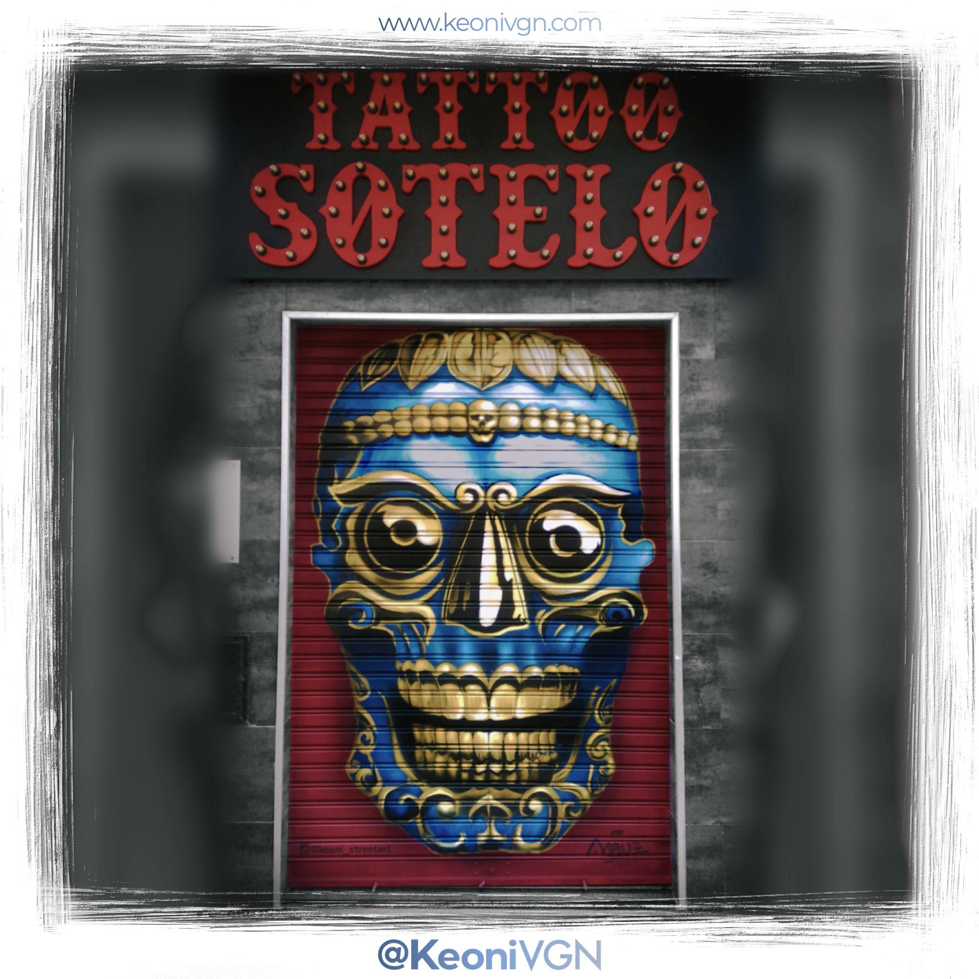 Mural Tattoo Sotelo