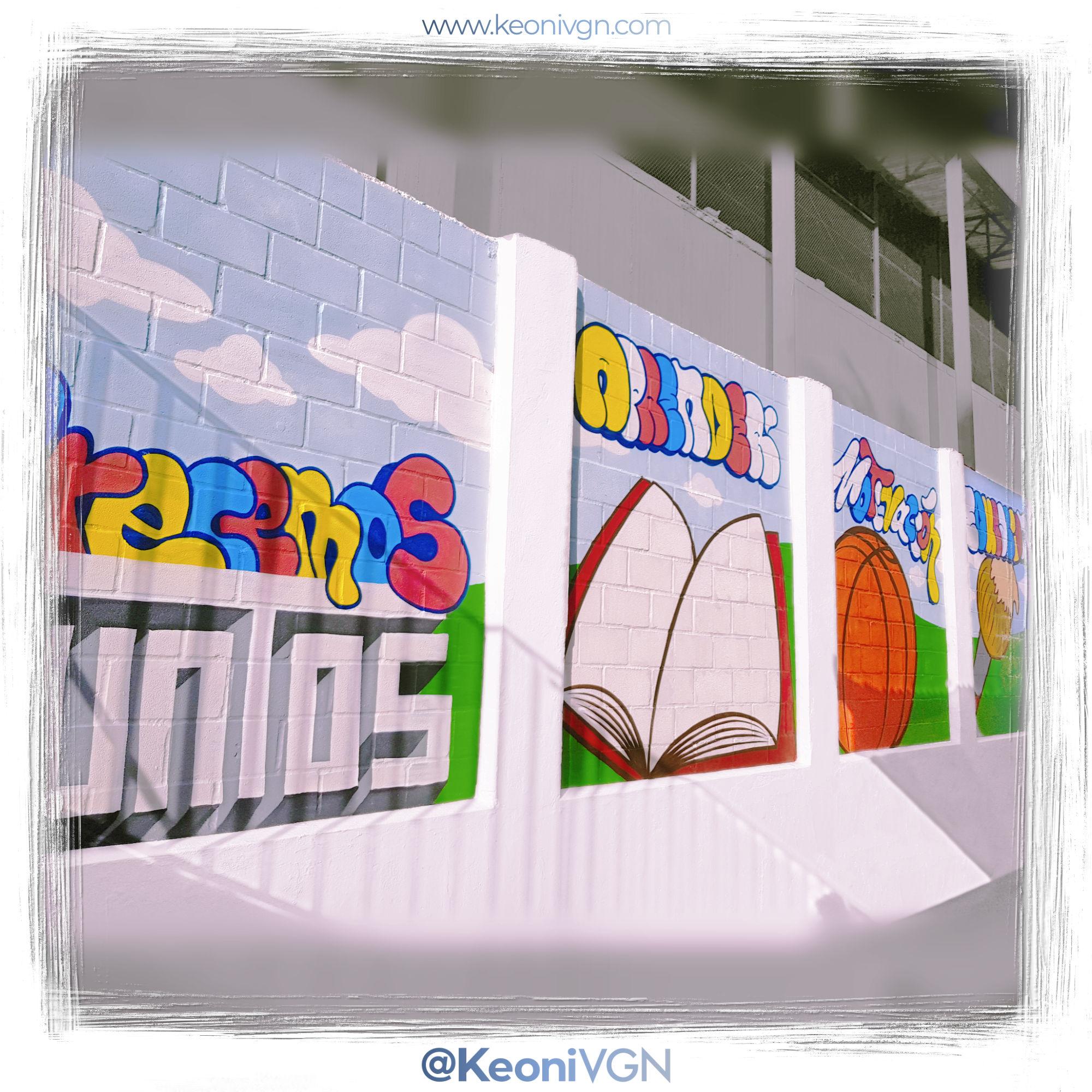 Mural Colegio Ausias March