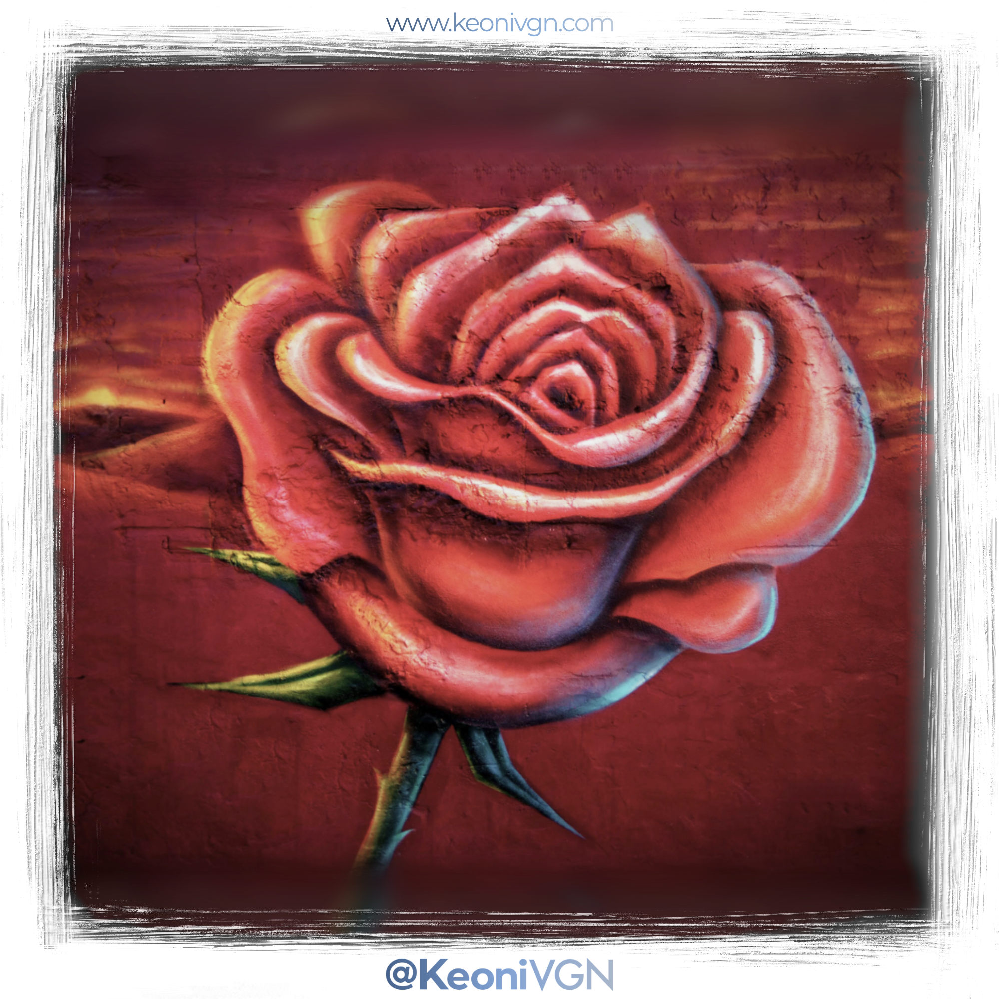 Mural Mom's Rose