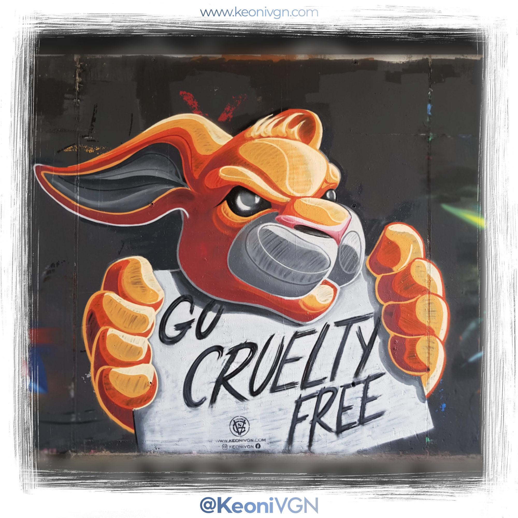 Mural Go Cruelty Free