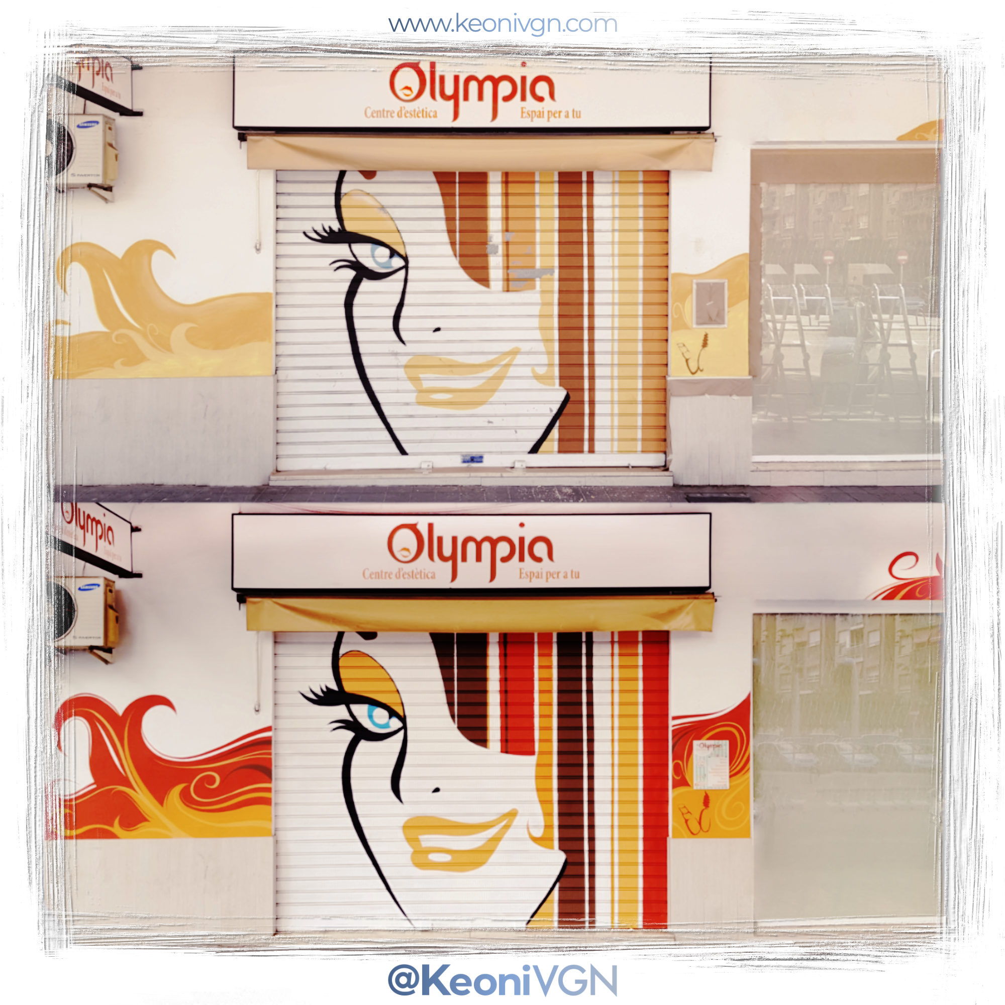 Mural Olympia C. de Estética