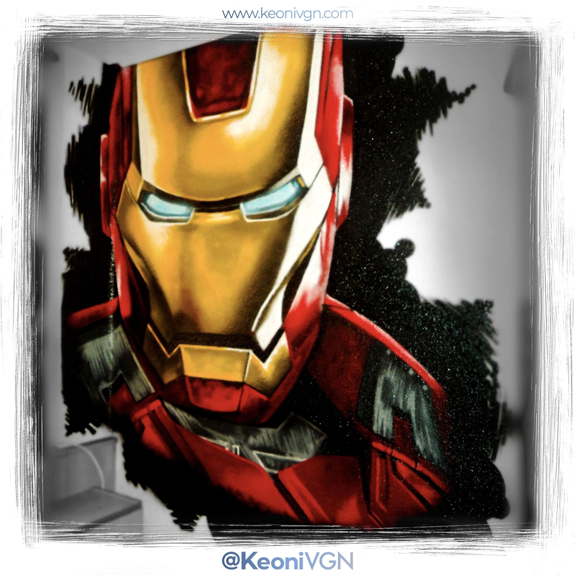 Mural Iron Man