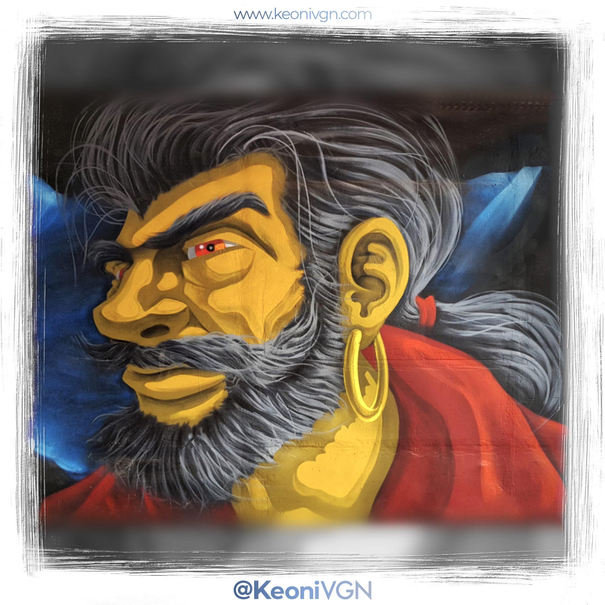 Mural Pirate Jack