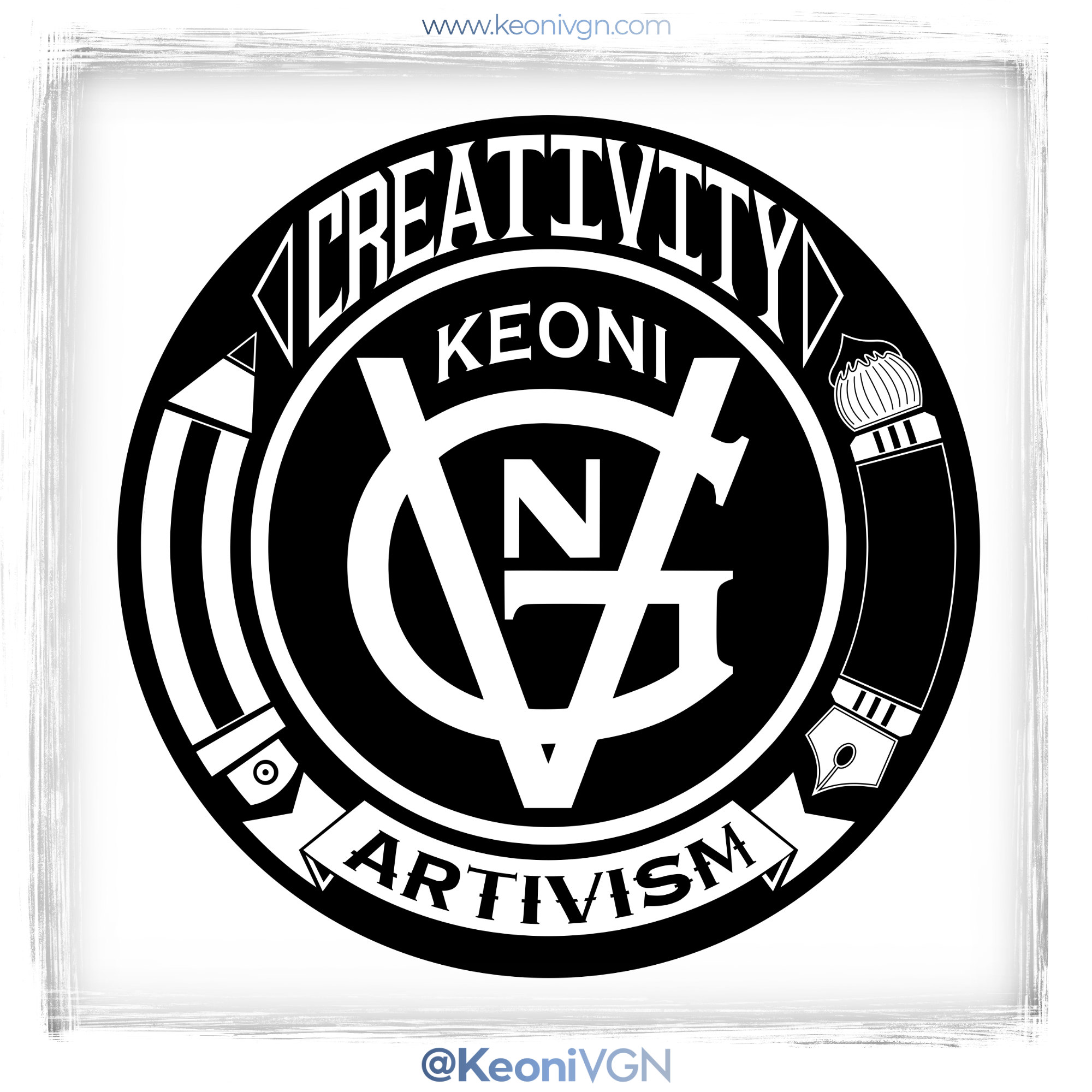 proyecto STICKERS KEONI VGN