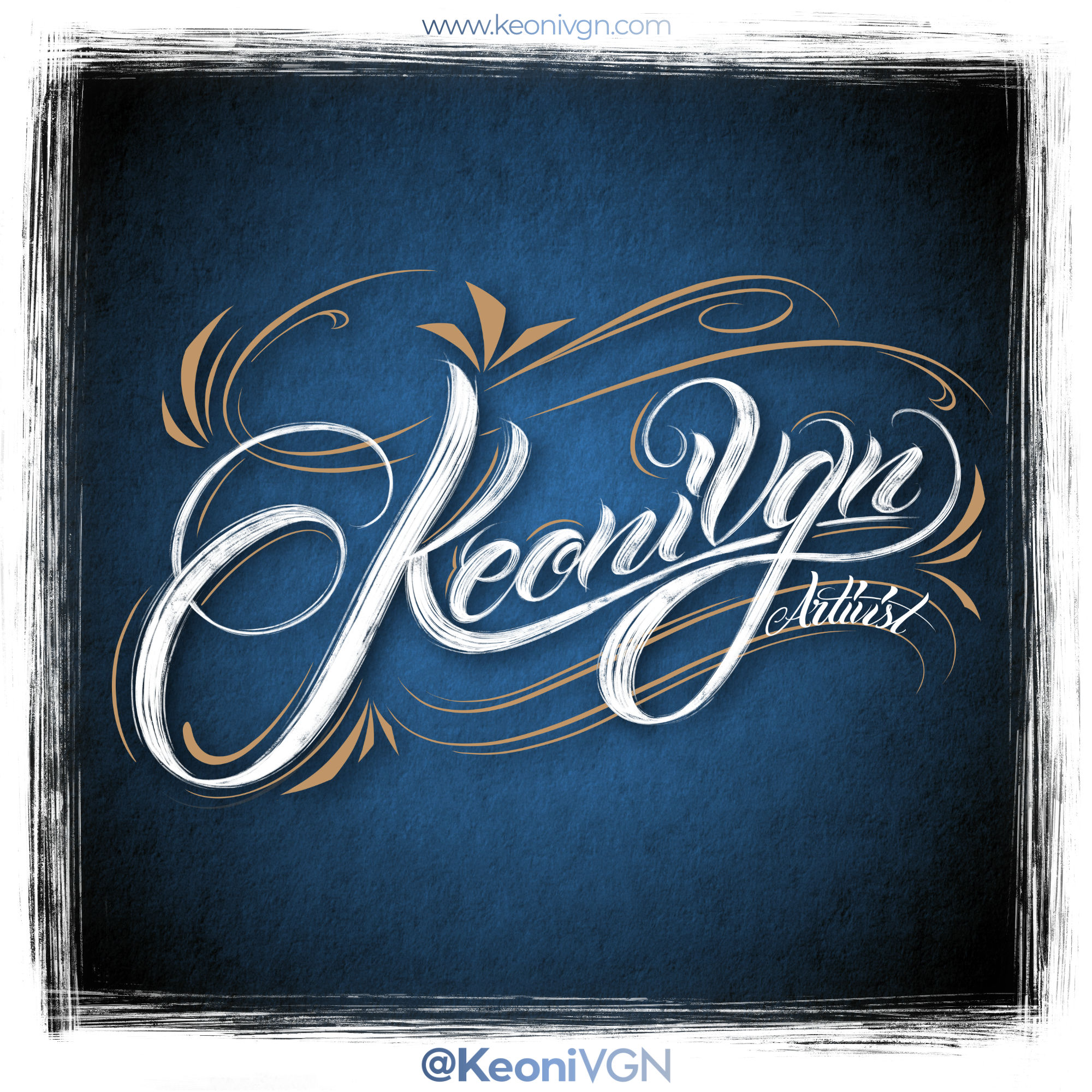 proyecto LETTERING KEONI VGN
