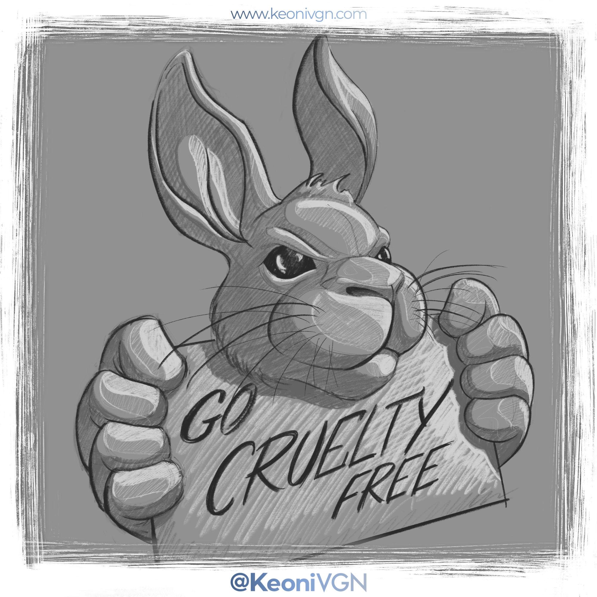 Ilustración - Go Cruelty Free
