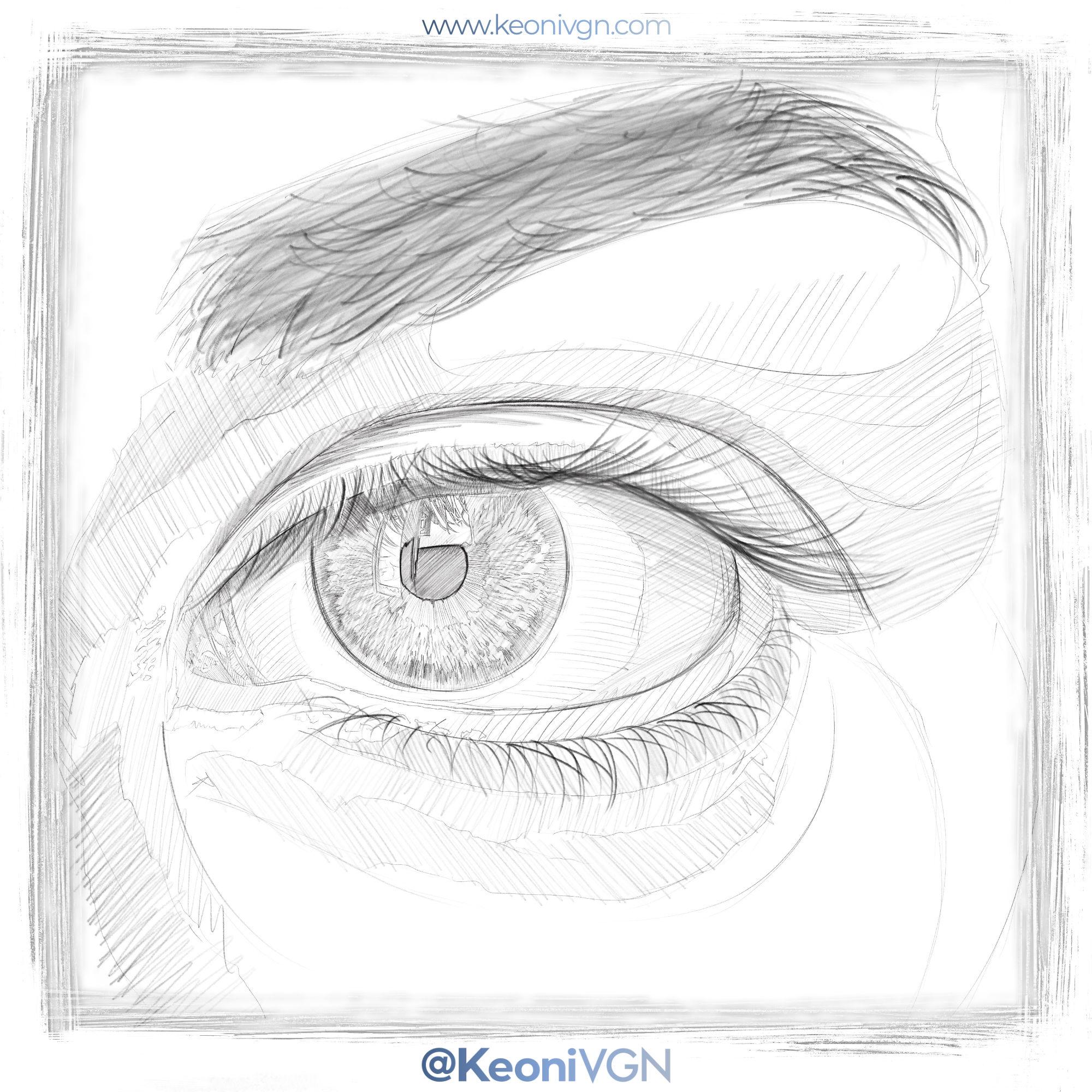 Ilustración - Eye Study