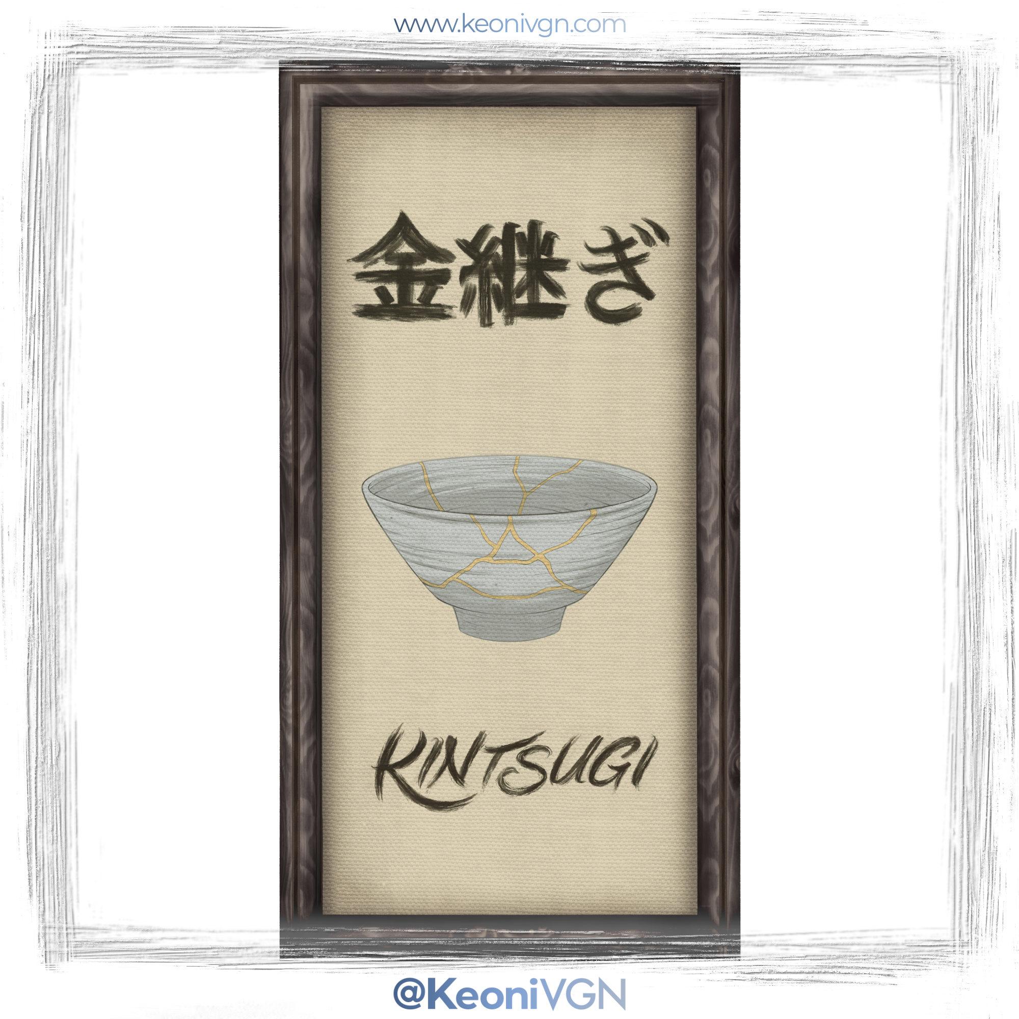 Cuadro Kintsugi - Kintsugi Dojo