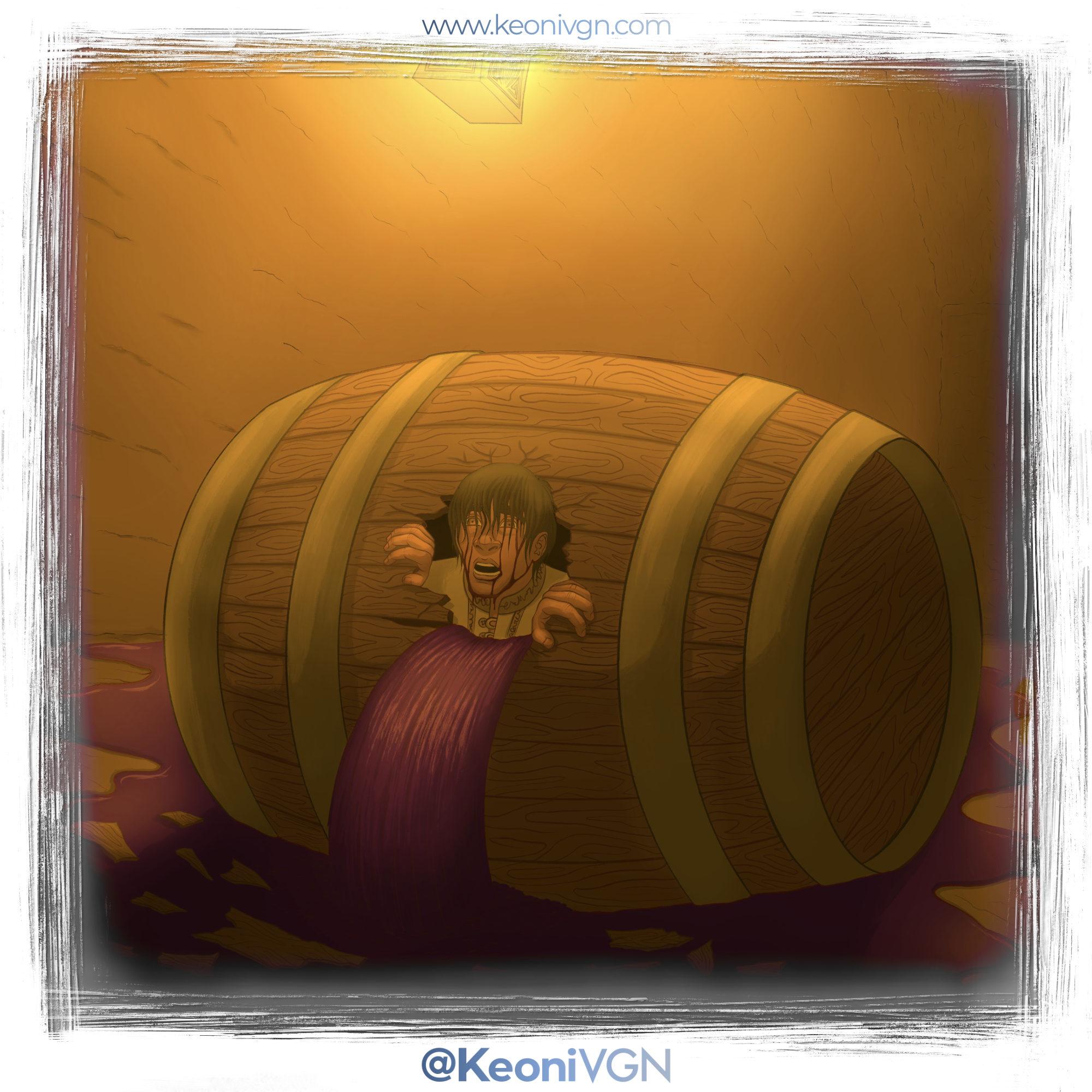 Karim escapa del barril - Kintsugi Dojo